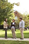 Sarah Jackson, Mel Howard, and Jordan McFall Talking on Campus - 10