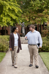 Mel Howard and Jordan McFall Walking in Wesley Square - 2