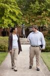 Mel Howard and Jordan McFall Walking in Wesley Square - 3