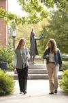 Liz Clay and Joy Brinkmeyer Walking in Wesley Square