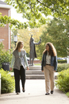 Liz Clay and Joy Brinkmeyer Walking in Wesley Square - 2