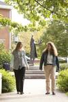 Liz Clay and Joy Brinkmeyer Walking in Wesley Square - 3