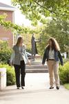 Liz Clay and Joy Brinkmeyer Walking in Wesley Square - 4
