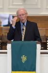 Dr. Bob Stamps Preaching in Estes Chapel - 4