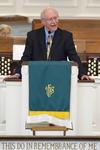 Dr. Bob Stamps Preaching in Estes Chapel - 5