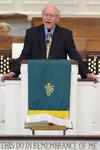 Dr. Bob Stamps Preaching in Estes Chapel - 8