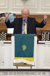 Dr. Bob Stamps Preaching in Estes Chapel - 12