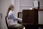 Julie Tennent Playing the Organ in Chapel