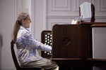 Julie Tennent Playing the Organ in Chapel - 3