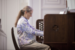 Julie Tennent Playing the Organ in Chapel - 5