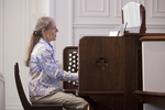 Julie Tennent Playing the Organ in Chapel - 6