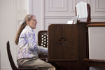 Julie Tennent Playing the Organ in Chapel - 7