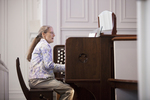 Julie Tennent Playing the Organ in Chapel - 8