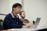 Eugene Quek Listening in Dr. Ben Witherington's Class - 2