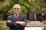 Dr. Ben Witherington in Wesley Square