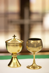 Communion Chalices in Fletcher Chapel