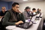 Sashi Jamir Listening in Dr. Steve Ybarrola's Class - 3