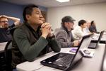 Sashi Jamir Listening in Dr. Steve Ybarrola's Class - 4