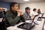 Sashi Jamir Listening in Dr. Steve Ybarrola's Class - 5