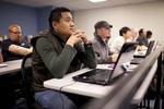 Sashi Jamir Listening in Dr. Steve Ybarrola's Class - 6