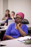 Casondra Radford Listening in Dr. Steve Ybarrola's Class - 2