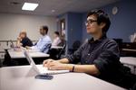 Cory Murashige Listening in Dr. Steve Ybarrola's Class - 2