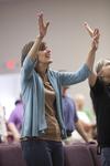Carolyn Moore Worshiping in a Local Church - 4