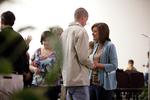 Carolyn Moore Praying with a Young Man - 5