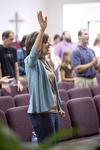 Carolyn Moore Worshiping in a Local Church - 5