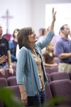 Carolyn Moore Worshiping in a Local Church - 7