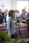 Carolyn Moore Worshiping in a Local Church - 8
