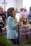 Carolyn Moore Worshiping in a Local Church - 9