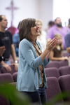 Carolyn Moore Worshiping in a Local Church - 10