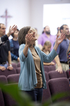 Carolyn Moore Worshiping in a Local Church - 11