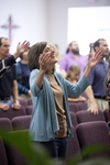 Carolyn Moore Worshiping in a Local Church - 12