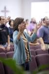 Carolyn Moore Worshiping in a Local Church - 14