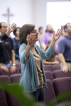 Carolyn Moore Worshiping in a Local Church - 15