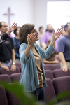 Carolyn Moore Worshiping in a Local Church - 16