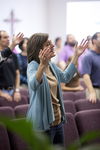 Carolyn Moore Worshiping in a Local Church - 17