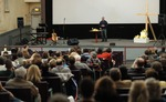 Rosario Picardo Speaking at Embrace Church - 4