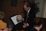 Dan Johnson and Bill Latimer at the Kalas Village Dedication Luncheon