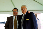 J.D. Walt and Paul Baddour at the Kalas Village Dedication