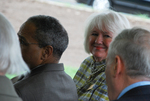 Joan Krupa at the Kalas Village Dedication