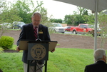 Jim Smith Speaking at the Kalas Village Dedication