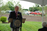 Jim Smith Speaking at the Kalas Village Dedication - 2