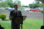 Dr. Tim Tennent Speaking at the Kalas Village Dedication - 3