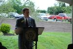 Dr. Tim Tennent Speaking at the Kalas Village Dedication - 4