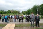 Bystanders at the Kalas Village Dedication