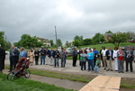 Bystanders at the Kalas Village Dedication - 2