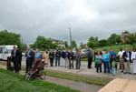 Bystanders at the Kalas Village Dedication - 3
